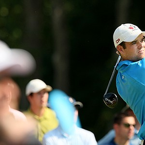 Corey Conners of Canada during the finals at the 2014 U.S. Amateur at the Atlanta Athletic Club.