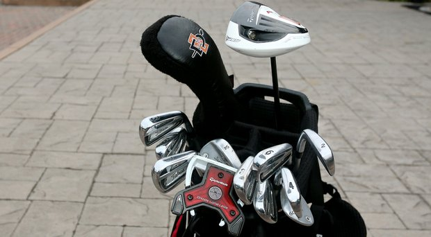 The clubs Gunn Yang used to win the 2014 U.S. Amateur at Atlanta Athletic Club.
