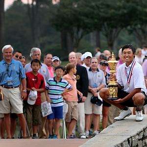 Gunn Yang, champion of the 2014 U.S. Amateur at the Atlanta Athletic Club.
