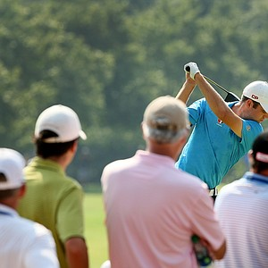 Corey Conners at No. 10 during the finals at the 2014 U.S. Amateur at the Atlanta Athletic Club.