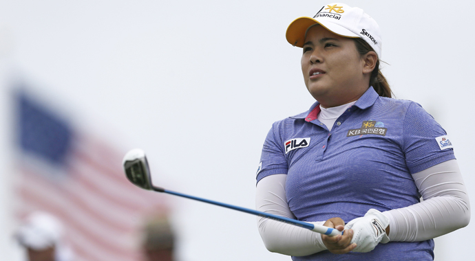 Inbee Park hung around all day and made her charge down the stretch to win the Wegmans LPGA Championship in a playoff over Brittany Lincicome.