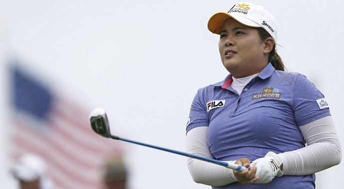 Inbee Park won the 2014 Wegmans LPGA Championship in a playoff over Brittany Lincicome.