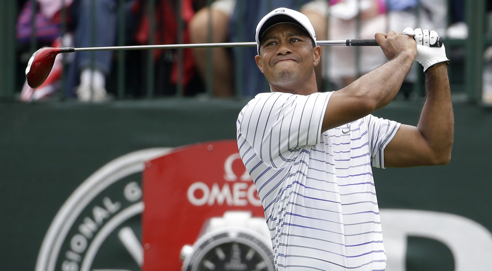 Tiger Woods aided in the adjustment of a Nike driver just last year.