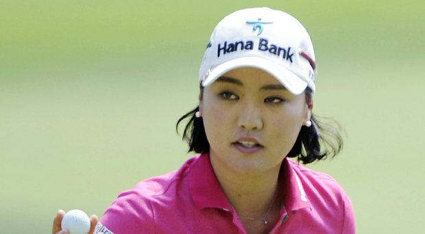 So Yeon Ryu during the 2014 Wegmans LPGA Championship