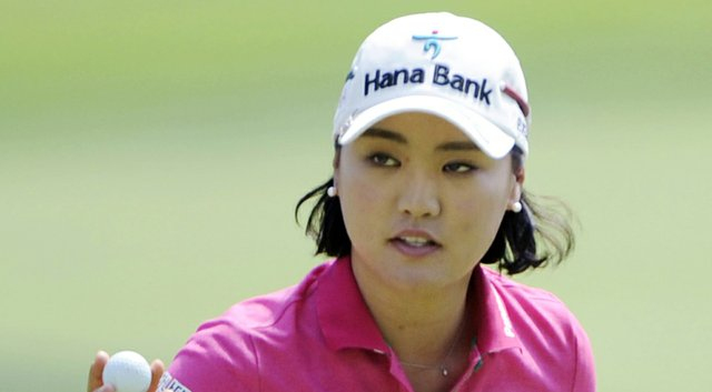 So Yeon Ryu during the 2014 Wegmans LPGA Championship