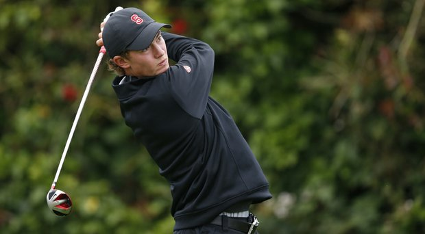 Sophomore Maverick McNealy competed in the 2014 U.S. Open at Pinehurst and returns as one of the top players for the Cardinal this season.