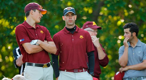 Former Minnesota assistant Tyler Stith was named Iowa's new head men's golf coach.