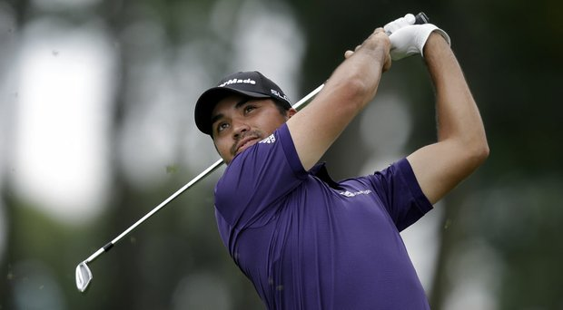 Jason Day shares the 54-hole lead with Jim Furyk at The Barclays.