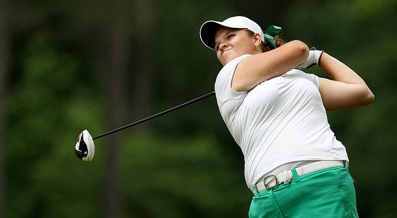 Liz Nagel, a recent Michigan State graduate, took the first-round lead at Stage 1 of LPGA Q-School.
