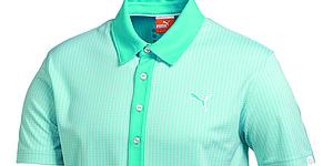 Puma Golf's Jacquard Pattern polo