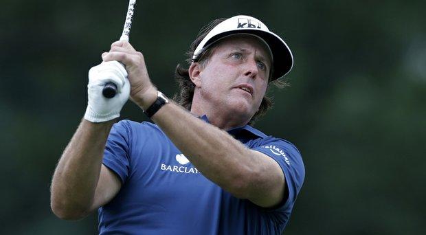 Phil Mickelson is set to play in his fifth event in the last seven weeks at the Deutsche Bank Championship on Friday.