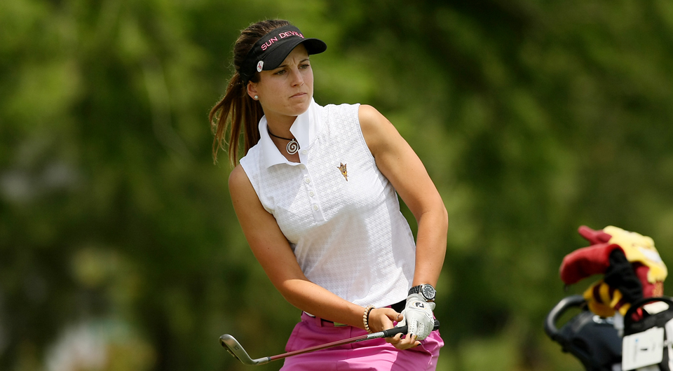 The Arizona State Sun Devils, led by senior Noemi Jimenez, rank eighth in Golfweek's countdown of the top women's college golf teams for fall 2014.