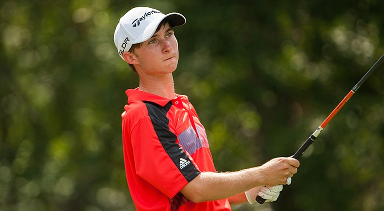 Austin Connelly shares the first-round lead at the Junior Players Championship with Maxwell Miller.