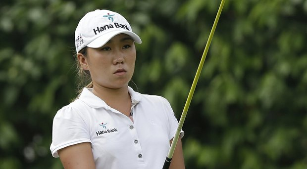I.K. Kim leads by three at the LPGA's Portland Classic.