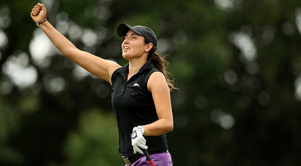 Emily Tubert took medalist honors at Stage I of LPGA Q-School.