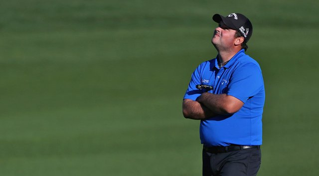 Patrick Reed refuses to fold in the FedEx Cup playoffs despite four double bogeys and a career-high 82, leading to a third-round exit Sunday at the Deutsche Bank Championship.