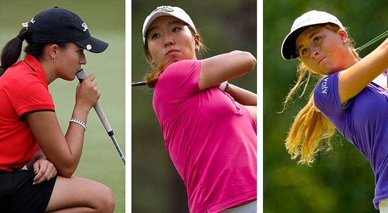 Nicole Morales, Cindy Ha and Shannon Aubert start their collegiate careers this fall.