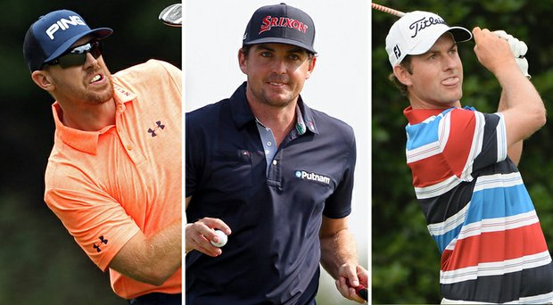 Hunter Mahan, Keegan Bradley and Webb Simpson were named as captain's picks for the 2014 U.S. Ryder Cup team.