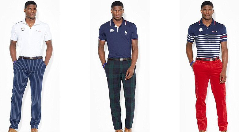 Team USA's apparel for the 2014 Ryder Cup at Gleneagles (Friday-Sunday).