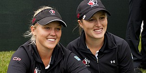 Canada leads at Women's WATC with record day