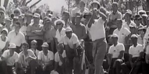 McIlroy, others recreate Palmer's shot from '60 Open