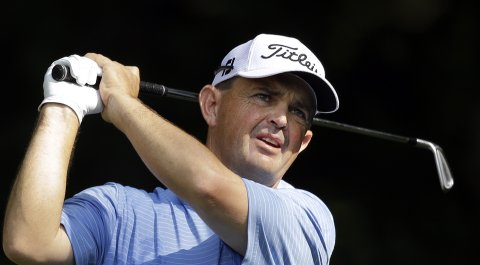 Greg Chalmers sits in second through two rounds at the Web.com Tour's Chiquita Classic.
