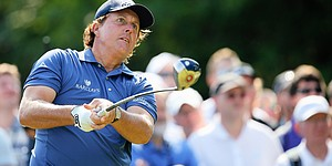 Mickelson withdraws from BMW Championship