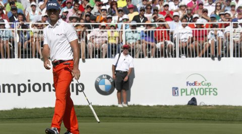 Billy Horschel during the final round of the BMW Championship.
