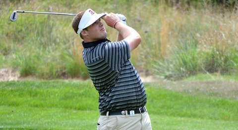 Will Starke led the South Carolina Gamecocks to victory at the Carpet Capital Collegiate with a 6-under 30 on the back nine of the final round.