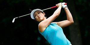 Wie builds golf strength, just in time for Evian