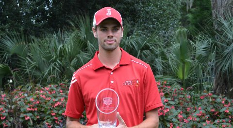 Jacksonville State's Tomasz Anderson wins the 2014 Golfweek Program Challenge after a final-round 12-under 60 at True Blue Golf Course in Pawleys Island, S.C.