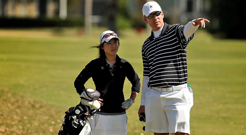 Vanderbilt women's golf head coach Greg Allen prepares his team to host the Mason Rudolph Championship among new teams and at a new course.