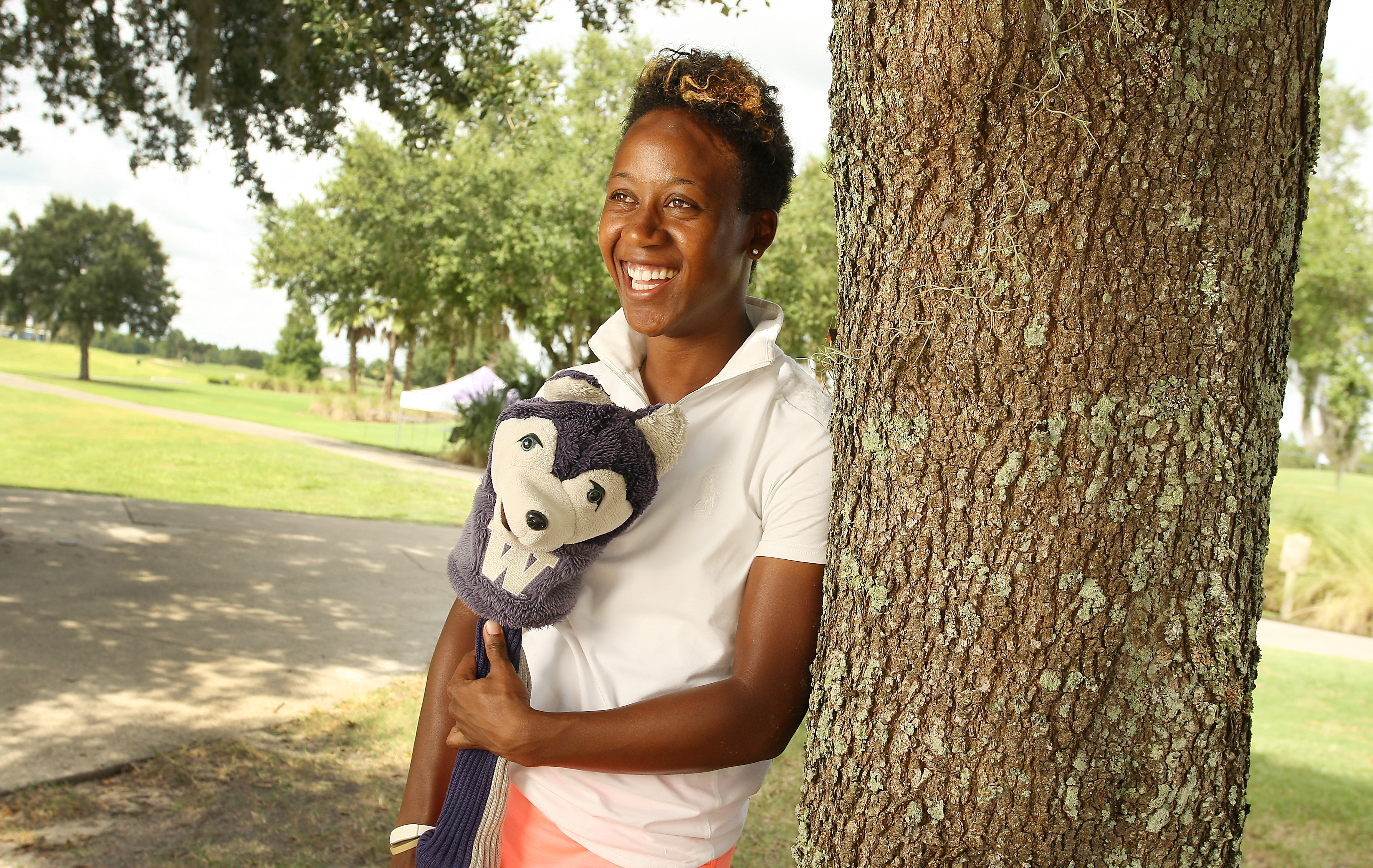 Sadena Parks, goofy personality and all, has had a breakout year on the Symetra Tour and is ready to become the fifth African-American to play the LPGA Tour.