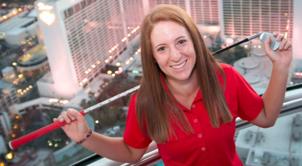 At 5-foot-2, UNLV senior Dana Finkelstein may be one of the most underrated players in women's college golf.