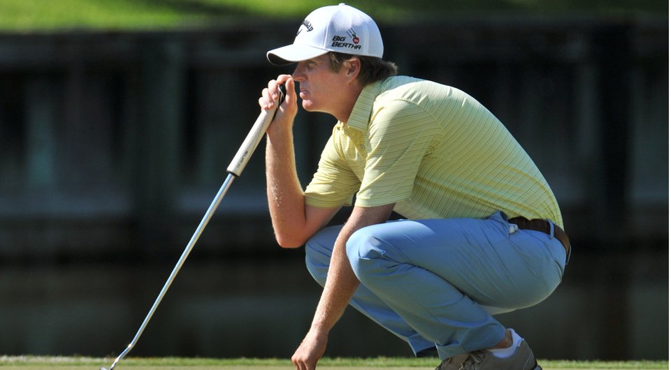 Derek Fathauer shot a 2-under 68 at the Web.com Tour Championship, securing a win and full-exempt status in the PGA Tour for the 2014-15 season.