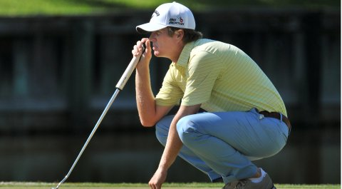 Derek Fathauer earned full status on the PGA Tour with a win at the Web.com Tour Championship.