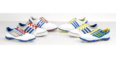 Adidas Golf shoes for the 2014 Ryder Cup.
