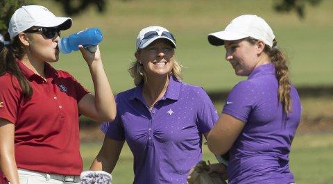 Furman women's head coach Kelley Hester and the Paladins won the 2014 Lady Paladin Invitational.