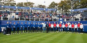PHOTOS: Junior Ryder Cup teams at Gleneagles