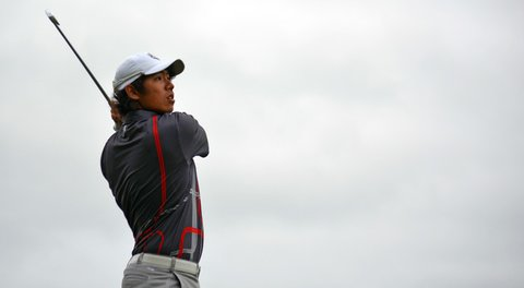New Mexico's Gavin Green leads all individuals at the William H. Tucker Invitational.