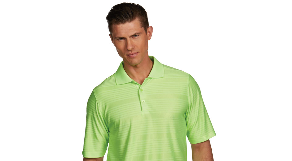 Antigua's all-new Desert Dry and Desert Dry Xtra-Lite performance polos have multiple technological attributes for on-course performance.