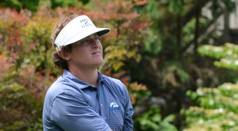 North Florida's M.J. Maguire was one of three Ospreys to finish inside the top 10 at Shoal Creek on Sept. 30.
