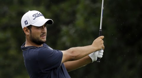 Alexander Levy leads heading into the final round of the European Tour's Portugal Masters.