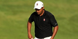 Stanford's Badhwar meets Tiger, shoots 59