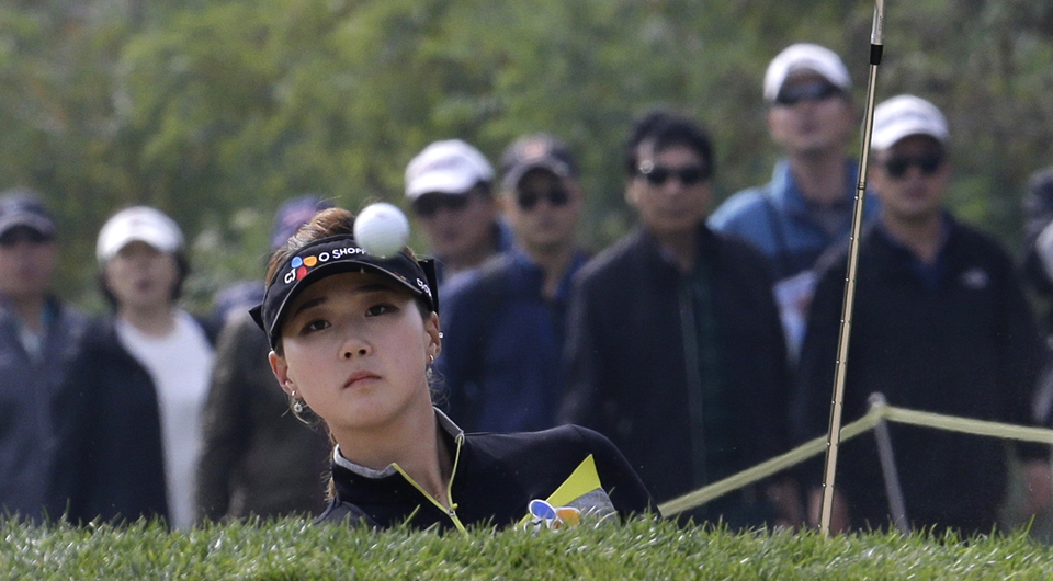 Kyu Jung Baek made her first LPGA Tour start memorable, winning the  KEB-HanaBank Championship in a three-way sudden death playoff.