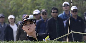 Baek wins 1st LPGA title in 3-way playoff