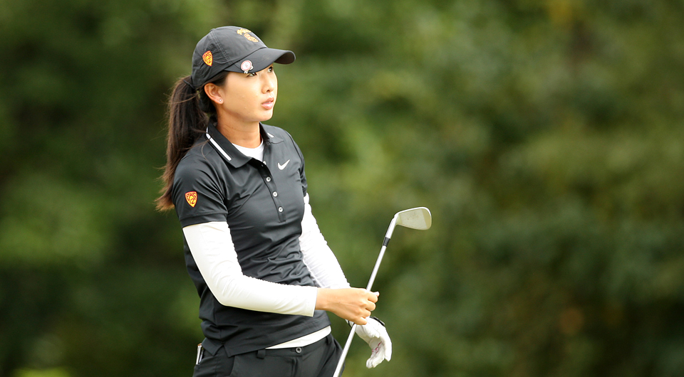 Th USC Trojans and Stanford Cardinal shared the Stanford Intercollegiate title Sunday.