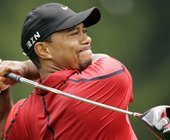Report: Tiger Woods returns to hitting golf balls