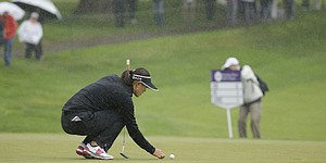 Rain-delayed Blue Bay LPGA cut to 54 holes