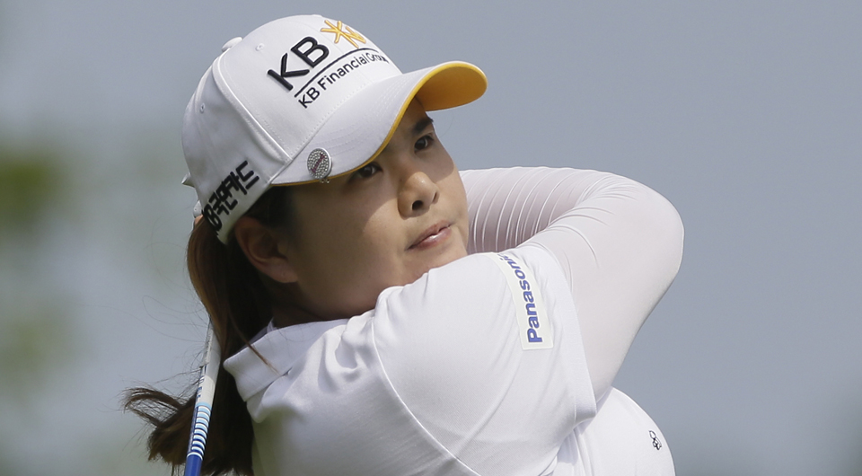World No. 1 Inbee Park fired a 10-under 62 Friday to take a three-shot lead at the LPGA Taiwan Championship.